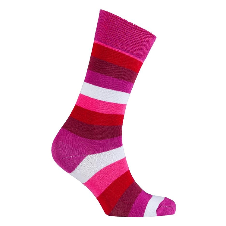 Men's Striped Crew Socks #1235