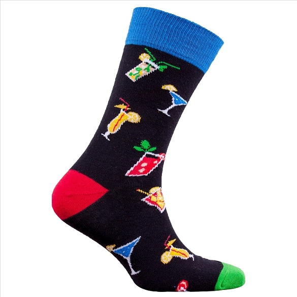 Men's Fancy Cocktail Socks #1306