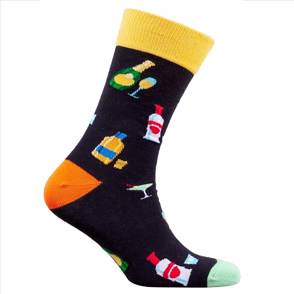 Men's Cocktail Socks #1307
