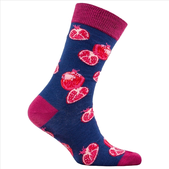 Men's Pomegranate Socks #1352