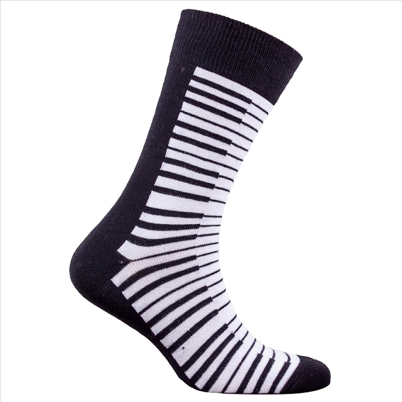 Men's Piano Socks #1366