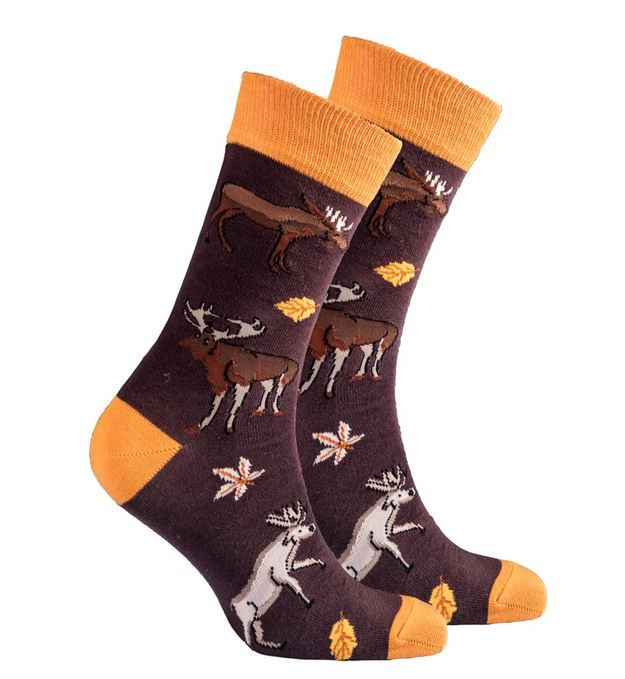 Men's Moose Socks #1412