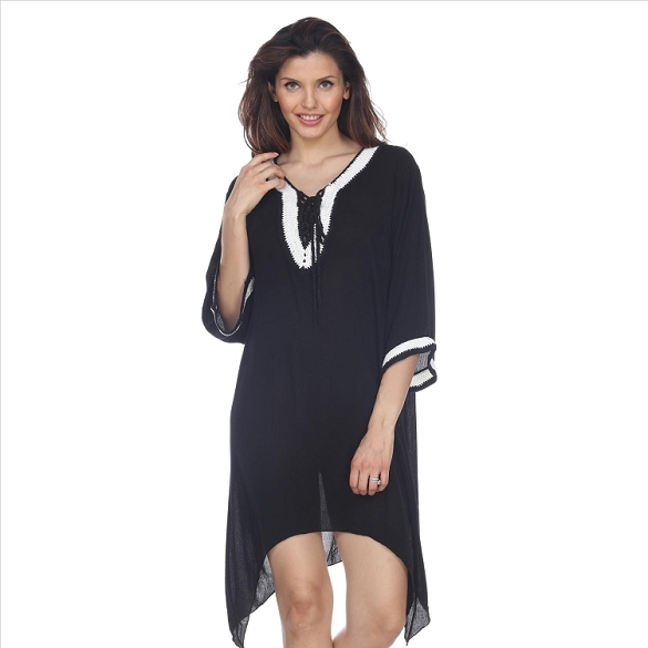 Crochet Cover-Up - Black