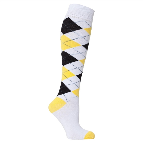 Women's Argyle Knee Highs #4143