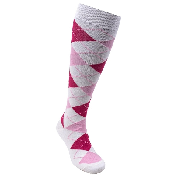 Women's Argyle Knee Highs #4155