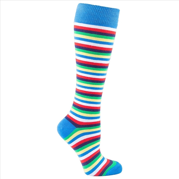 Women's Stripe Knee Highs #4162