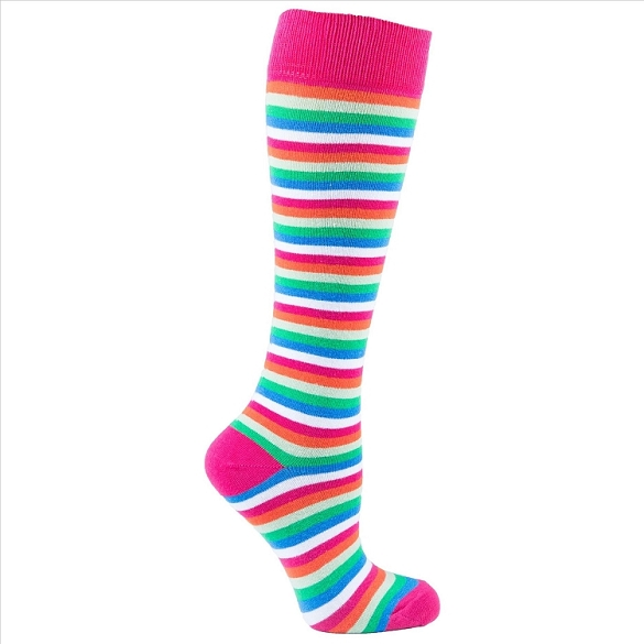 Women's Stripe Knee Highs #4166