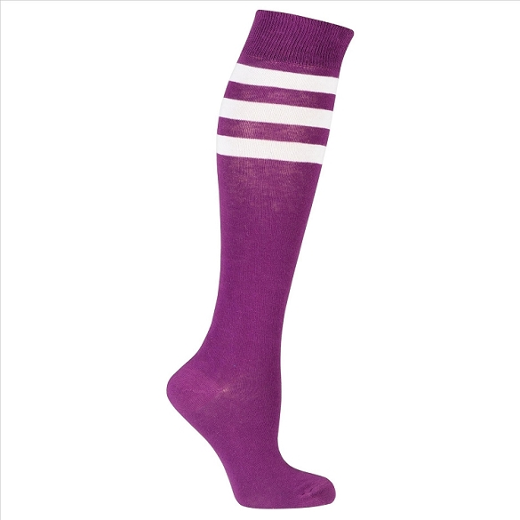 Women's Stripe Knee Highs #4183