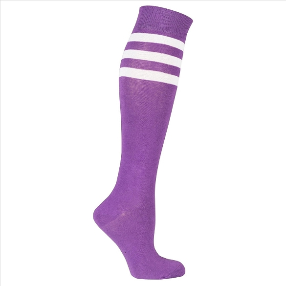 Women's Stripe Knee Highs #4191
