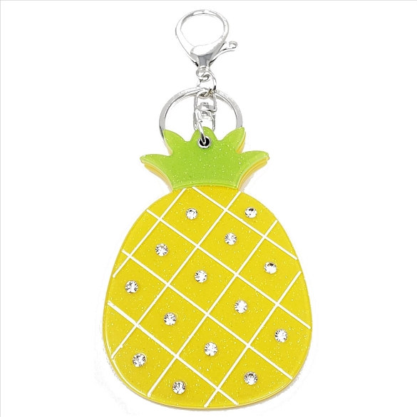 Pineapple Keychain / Mirror