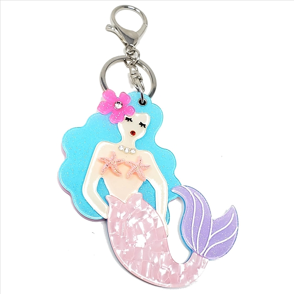 Mermaid Keychain / Mirror