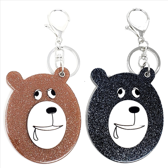 Assorted Bear Keychain / Mirror