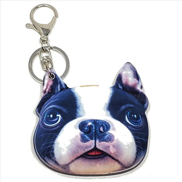 Dog Keychain / Mirror