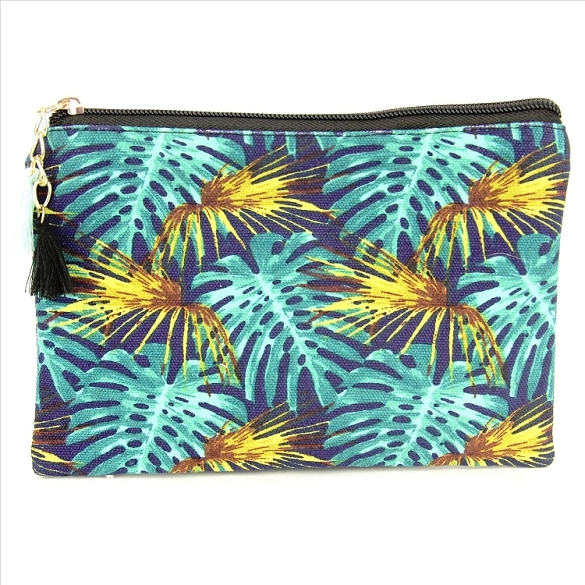 Leaves Cosmetic Bag