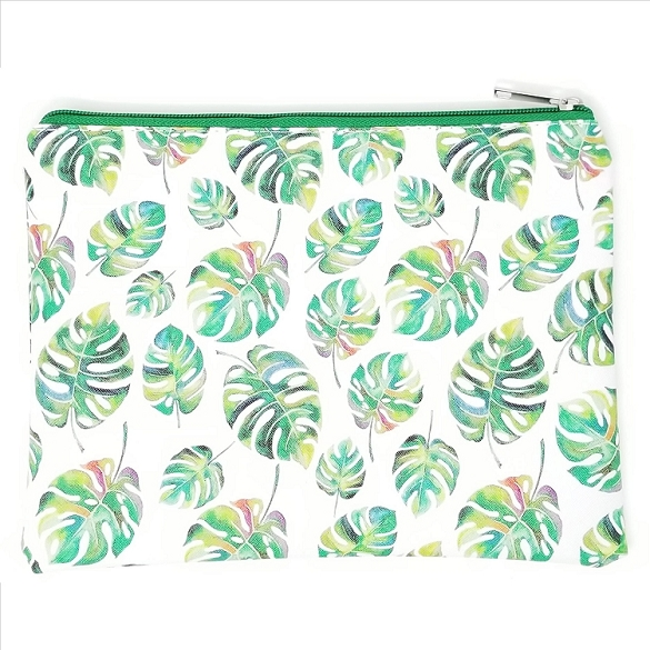 Palm Leaves Cosmetic Bag