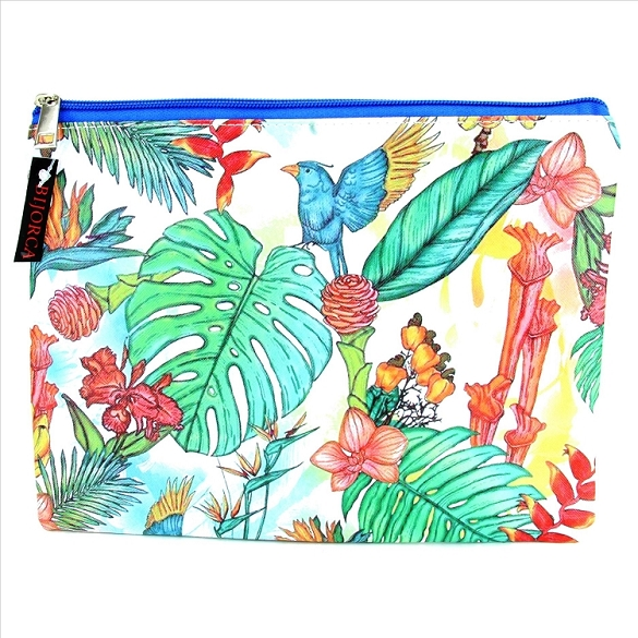 Tropical Cosmetic Bag