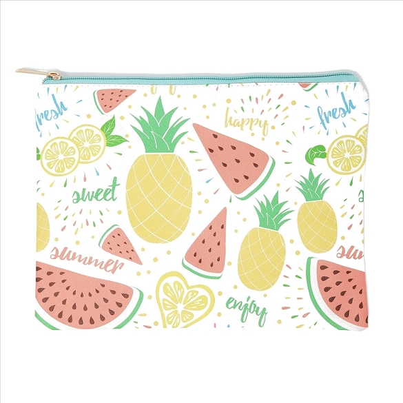 Happy Summer Cosmetic Bag
