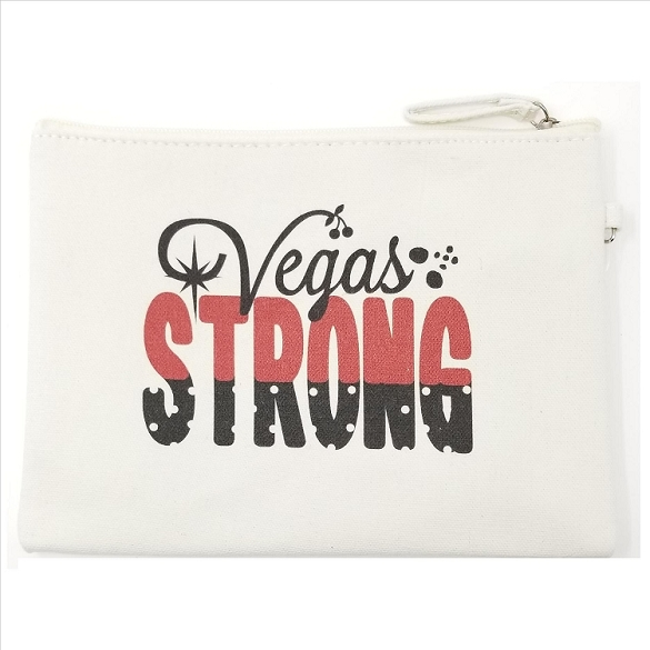 Vegas Strong Cosmetic Bag
