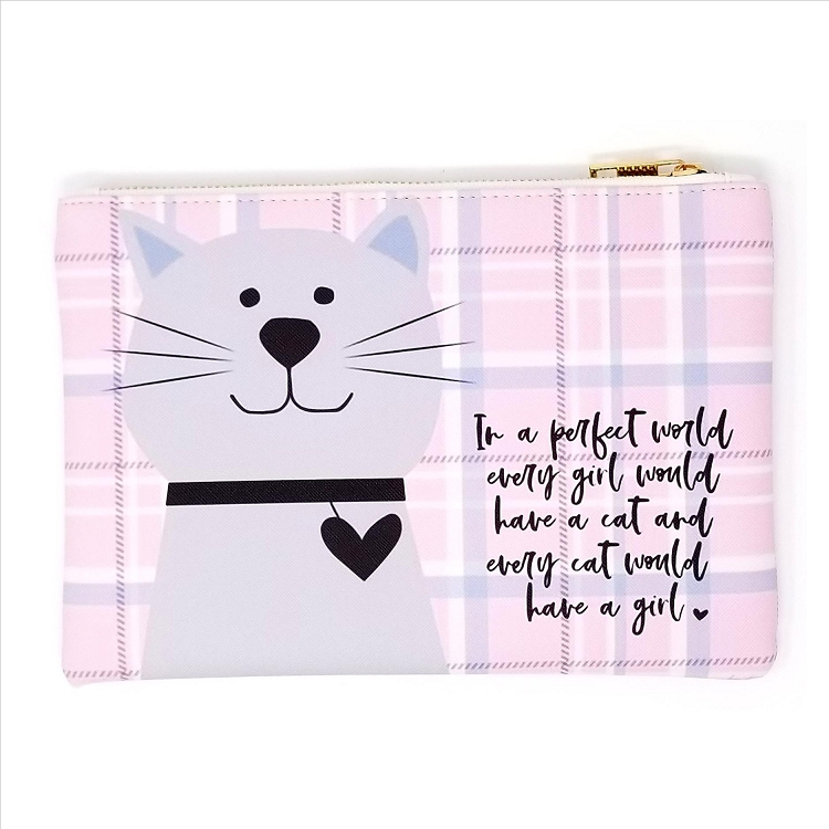 Kitty Cosmetic Bag