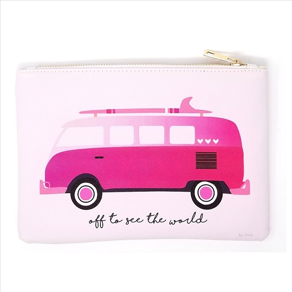 Off to See the World Cosmetic Bag