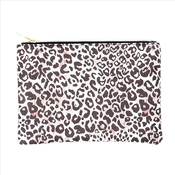 Animal Print Cosmetic Bag - Cheetah