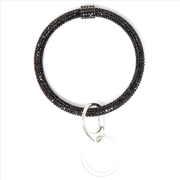 Bracelet Key Chain - Black