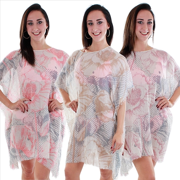 Awesome Floral Cover-Ups - Assorted