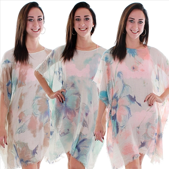 Feminie and Flirty Cover-Ups - Assorted