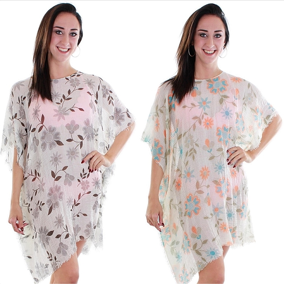 Floral Explosion Cover-Ups - Assorted