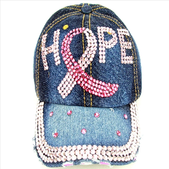 HOPE Rhinestone Hat