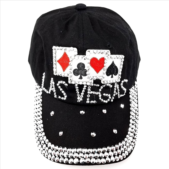 Las Vegas 4 Aces Hat - Black