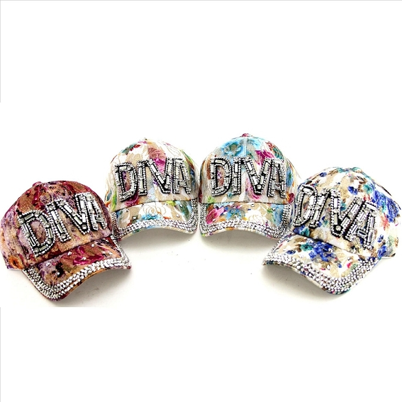 DIVA Rhinestone Hats - Assorted