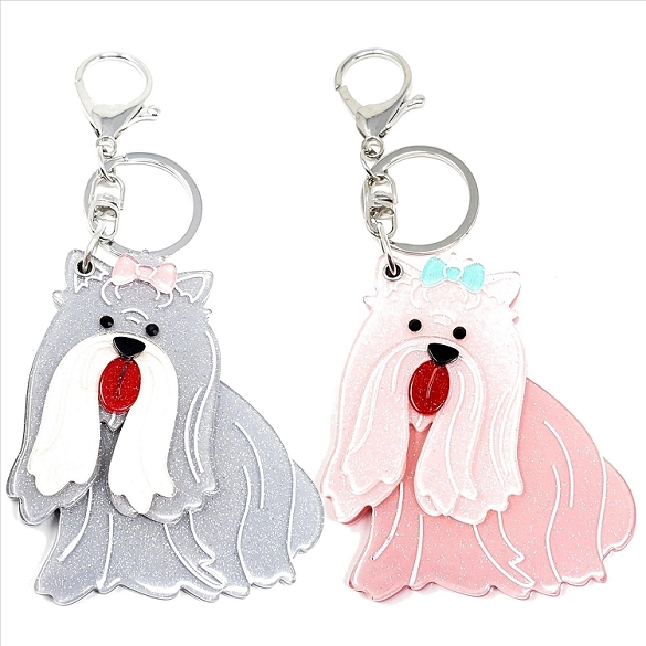 Assorted Shih Tzu Keychain / Mirror