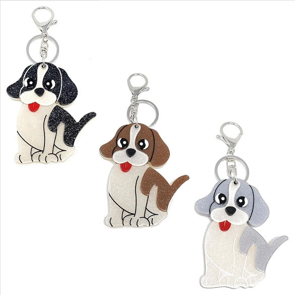 Assorted Puppy Keychain / Mirror
