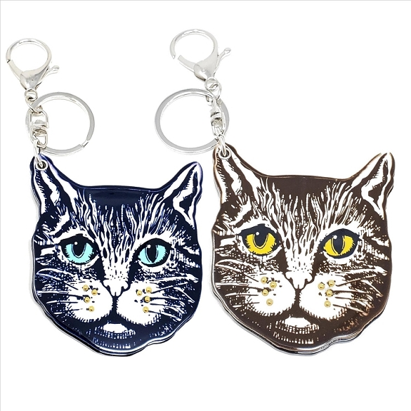 Assorted Kitten Keychain / Mirror