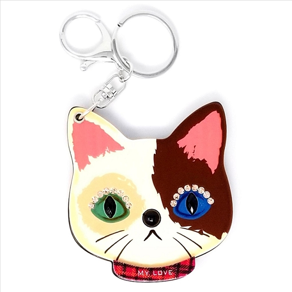 Cat Keychain / Mirror