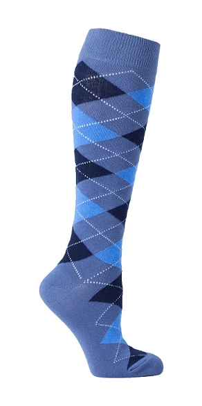 Women's Argyle Knee Highs #4139