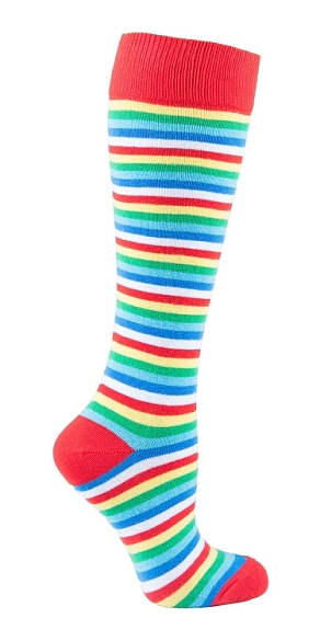 Women's Stripe Knee Highs #4164