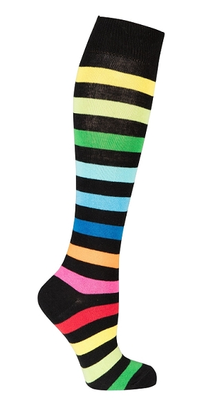 Women's Stripe Knee Highs #4168