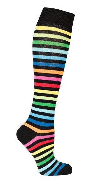 Women's Stripe Knee Highs #4177