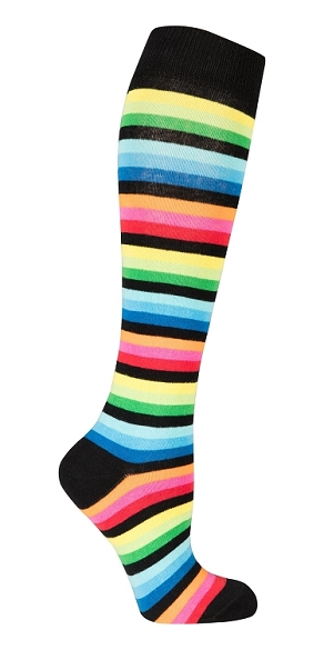 Women's Stripe Knee Highs #4179