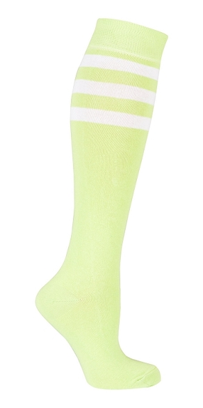 Women's Stripe Knee Highs #4186
