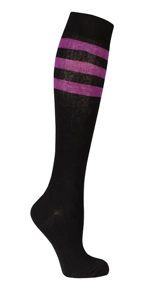Women's Stripe Knee Highs #4205