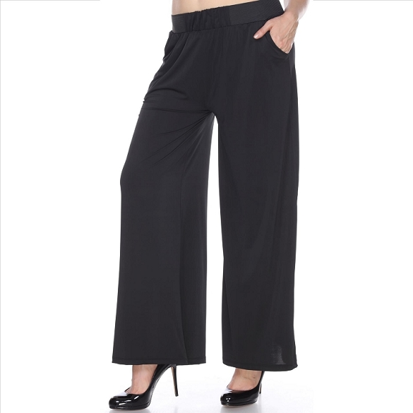 Amazing Palazzo Pants with Pockets - Black
