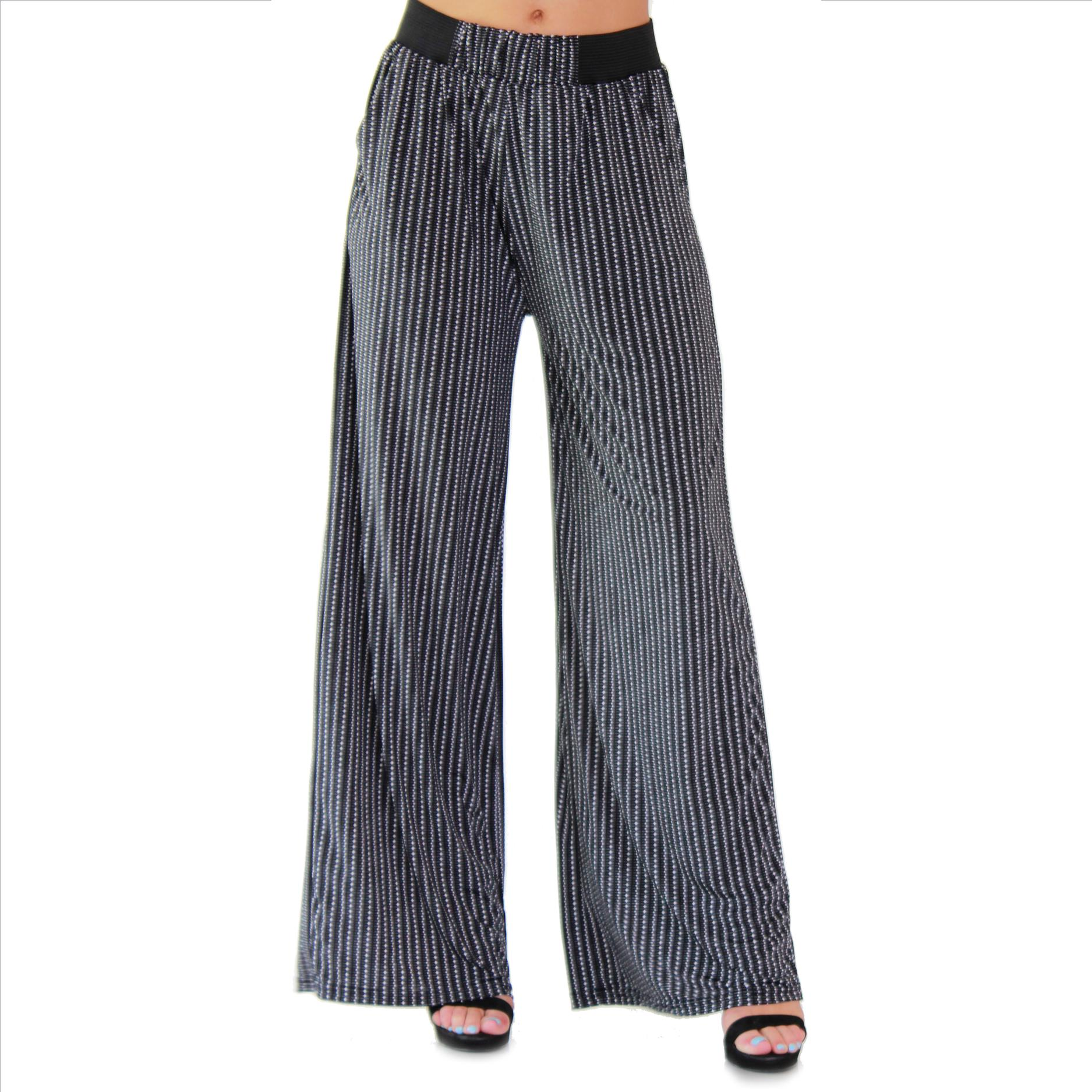 Amazing Palazzo Pants with Pockets - #190