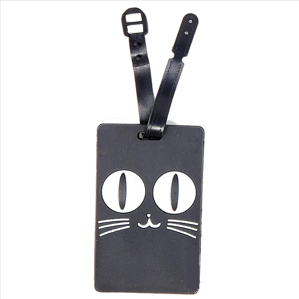 Cat Face Luggage Tag