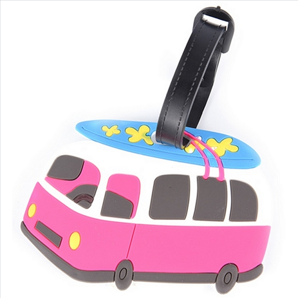 VW Surf Van Luggage Tag