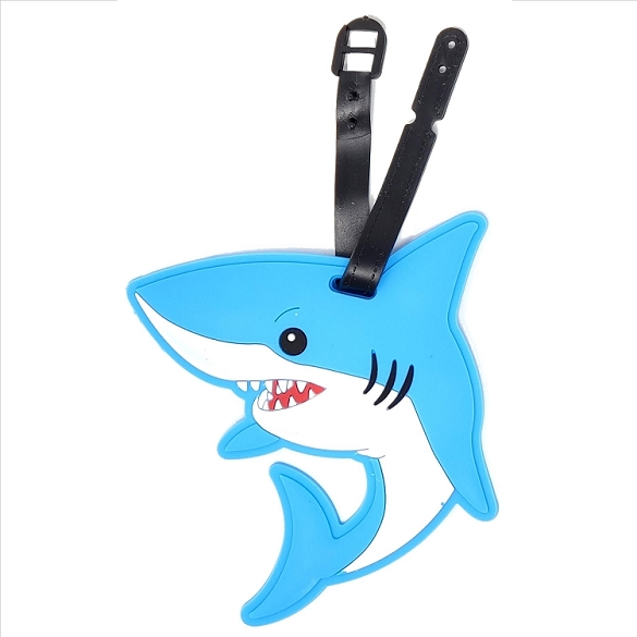 Shark Luggage Tag