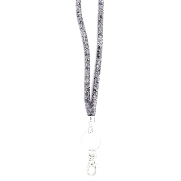 Amazing Mesh Lanyard - Grey