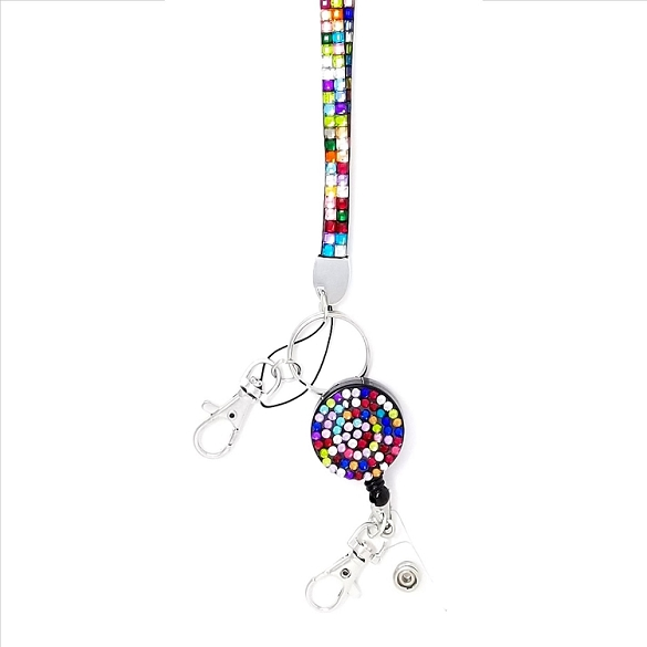 Bling Breakaway Lanyard - Multi-Color